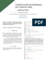 DISEÑO E IMPLEMENTACION DE MEMORIAS RAM Y ROM EN VHDL.docx