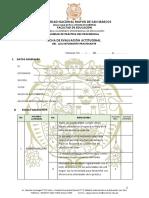 Ficha Actitudinal