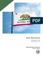 California budget proposal, May revision