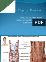 Thyroid Carcinoma Presentation