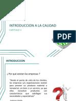 Cap 1 - Introduccion a La Calidad
