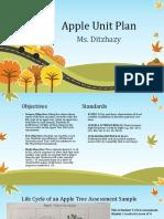 apple unit plan ppt