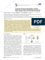 Experimental and Theoretical Structural Investigation of AuPt Nanoparticles Synthesized Using a Direct Electrochemical Method