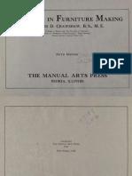 1912-Problems in Furniture Making