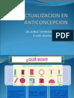 Actualizacion en Anticoncepcion Hormonal.