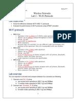 Lab2 Wifi Protocols