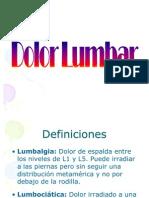 Lumbago Def