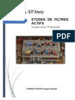TP Électricité_Filtres Actifs