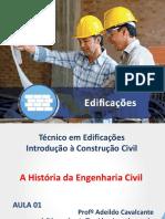 Aula 01 - Material Didático - A História Da Engenharia Civil