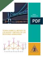 TEORIA SOBRE EL METODO DE LOS NUDOS Y METODO DE LAS SECCIONES ARMADURAS.docx