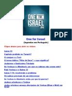 One for Israel (Em Português)