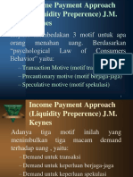 3b-Teori Permintaan Uang (Lanjutan)