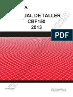 Manual Taller CBF150_2013 (Mod. Arg)