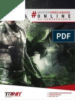 Master Videojuegos Online 2018