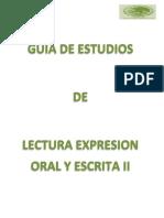 Lectura Expresion Oral y Escrita 2