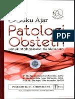 Buku Ajar Patologi Obstetri Untuk Mahasiswa Kebidanan