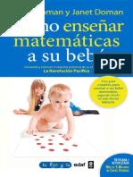 Como Enseñar Matemáticas a Su Bebé