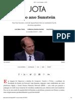 2017_ o Ano Sunstein – JOTA