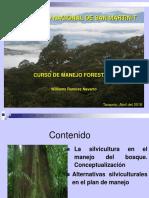 4 La Silvicultura en El Manejo Del Bosque. Conceptualización