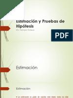 5. Estimación y Pruebas de Hipótesis