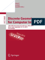 (Lecture Notes in Computer Science _ Image Processing Computer Vision Pattern Recognition and Graphics 8668) Elena Barcucci, Andrea Frosini, Simone Rinaldi-Discrete Geometry for Computer Imagery_ 18th