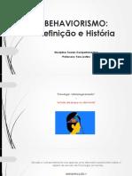 Aula+2+-+Behaviorismo+-+Definição+e+História.
