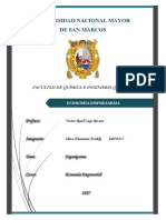 Organigrama Economia Empresarial