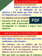 2. Objetivo de La de Investigación