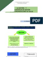 1. La Gestión y Los Modelos de Gestión