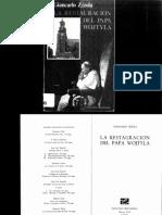 ZIZOLA, G. La restauración del Papa Wojtyla.pdf