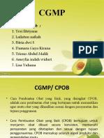 CGMP kel.3