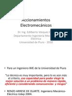 1.0 Accionamientos Electromecánicos