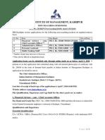 Detailed Adv Non Teaching Mar 2018