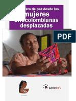 Propuesta de paz desde las mujeres Afrocolombianas desplazadas ONU