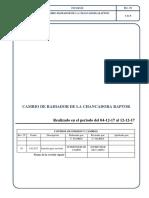 INFORME CAMBIO DE RADIADOR DE LA CHANCADORA RAPTOR.pdf