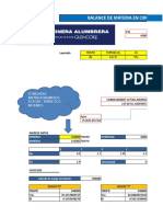 Balance de Materia en Circuito de Molienda MINA ALUMBRERA ARGENTINA