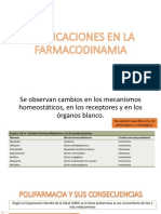 Implicaciones en La Farmacodinamia