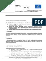NORMAS_54_municipal_SSA_Norma de Armazenamento Externo de Contêineres de Resíduos Sólidos