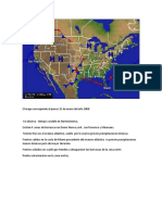 El Mapa Corresponde Al Jueves 31 de Enero Del Año 2008