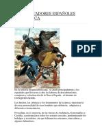 Conquistadores Españoles En