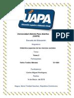 Tarea II Didactica Especial de Las Ciencias Sociales