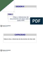 Tema 4. Citas y Referncias de Documentos de Páginas Web