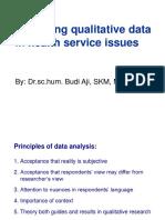 6. Qualitative Data Analysis