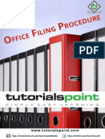 Office Filing Procedure Tutorial