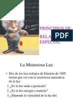 Principio de La Relatividad