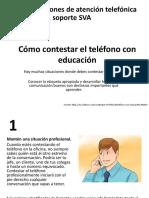 Cómo Contestar El Teléfono Con Educación