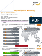 Inter-EnB Inter-Frequency Load Balancing