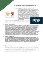 CONSULTORIA OHSAS 18001
