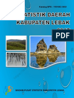 Statistik Daerah Kabupaten Lebak 2017