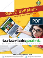 Gate Geology and Geophysics Syllabus